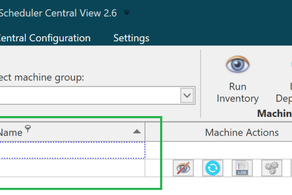 New filtering and grouping options. Making it easier to navigate and find machines and packages